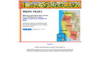 trailsgalore.com screenshot