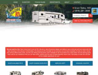trailsiderv.net screenshot