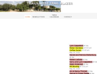 trailswesttrailblazer.com screenshot