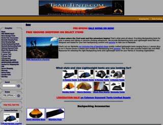 trailtents.com screenshot