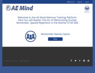 train.aemind.com screenshot