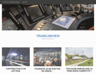 traincabview.wordpress.com screenshot