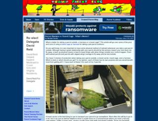 trainedparrot.com screenshot