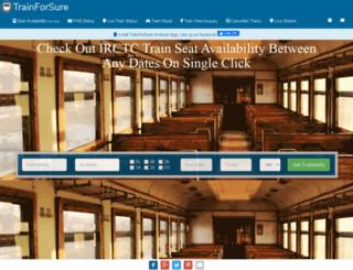 trainforsure.com screenshot