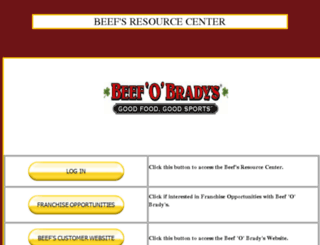training.beefobradys.com screenshot