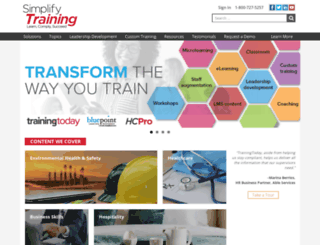 training.blr.com screenshot