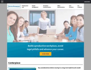 training.businessmanagementdaily.com screenshot