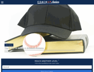 training.coachup.com screenshot