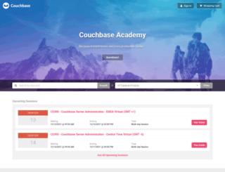 training.couchbase.com screenshot