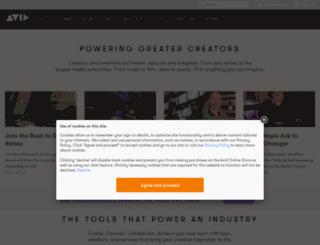training.digidesign.com screenshot