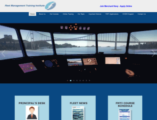 training.fleetship.com screenshot