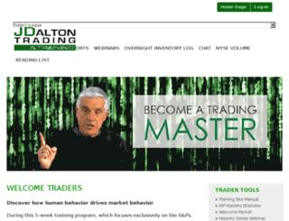 training.jdaltontrading.com screenshot