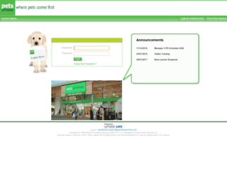 training.petsathome.com screenshot