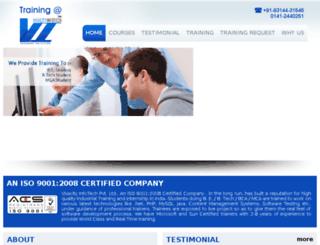 training.vivacityinfotech.com screenshot