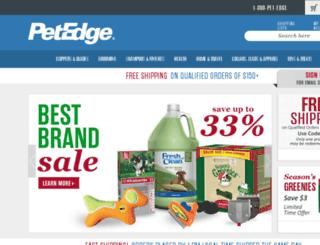 trainingandcontrol.petedge.com screenshot