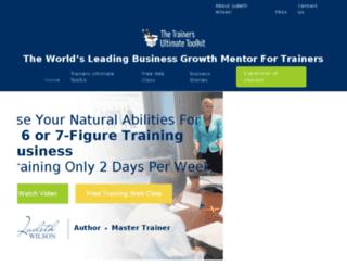 trainingbusiness.com.au screenshot