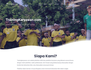 trainingkaryawan.com screenshot