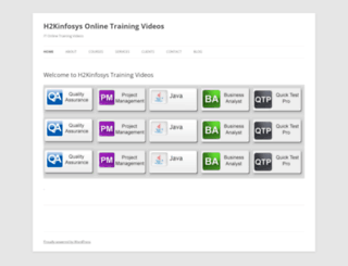 trainingvideos.h2kinfosys.com screenshot