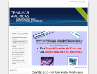 trainmaramericas.org screenshot