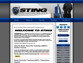 trainmyguard.com screenshot