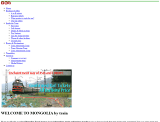 traintomongolia.com screenshot