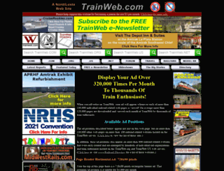 trainwebads.com screenshot