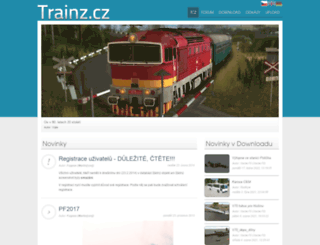 trainz.cz screenshot