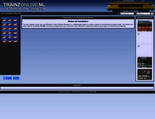 trainzonline.nl screenshot