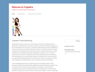 trajadera.com screenshot