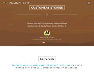 trajanstudio.com screenshot