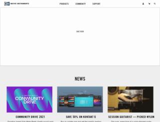 traktor-dj.com screenshot