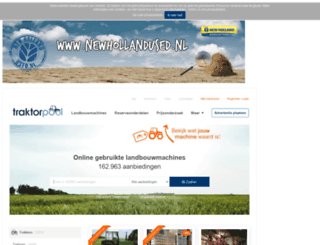 traktorpool.nl screenshot
