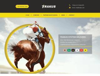 trakus.com screenshot