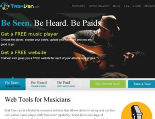 trakvan.com screenshot