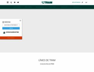 tram.cat screenshot