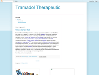 tramadoltherapeutic.blogspot.com screenshot