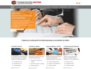 tramitacionactiva.com screenshot