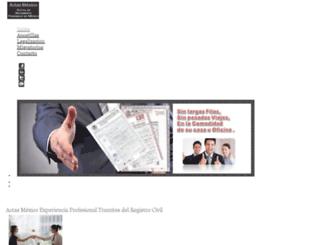 tramitesyservicios.com.mx screenshot