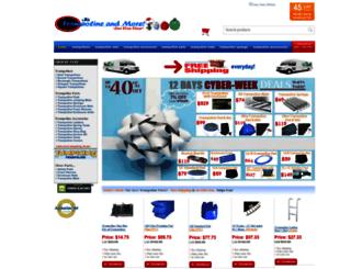 trampolineandmore.com screenshot