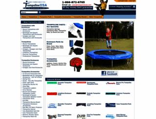 trampolineusa.com screenshot