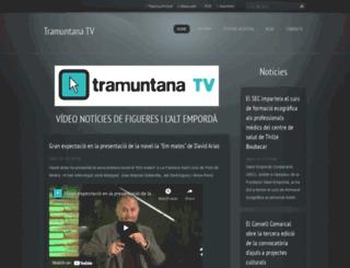 tramuntanatv.com screenshot