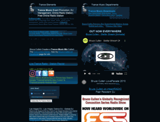 tranceelements.com screenshot