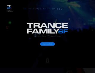 trancefamilysf.com screenshot
