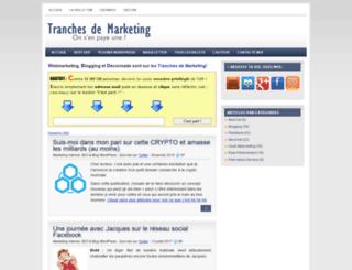 tranches-de-marketing.com screenshot