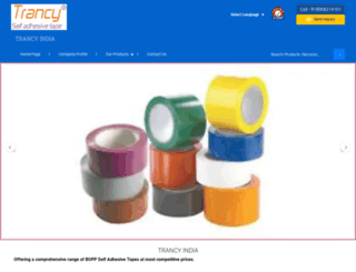 trancytape.com screenshot