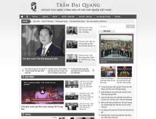 trandaiquang.org screenshot