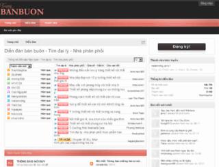 trangbanbuon.com screenshot