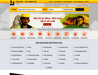 trangvang.vn screenshot