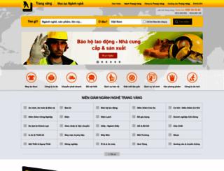 trangvangvietnam.com screenshot