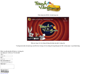 tranhvang.com screenshot